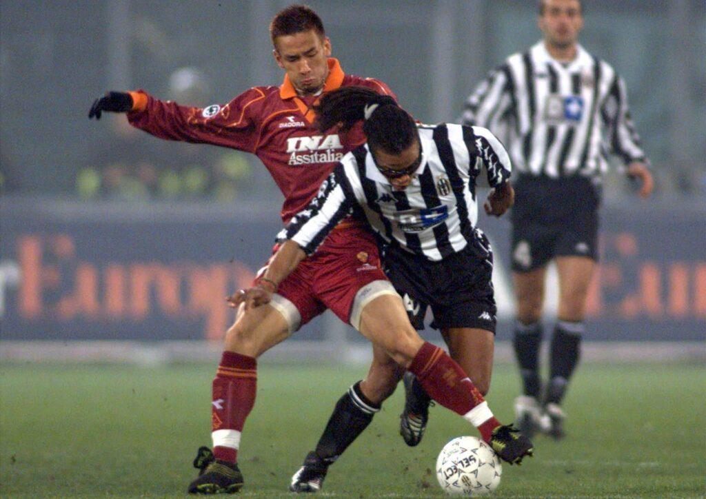 Nakata Roma Juventus