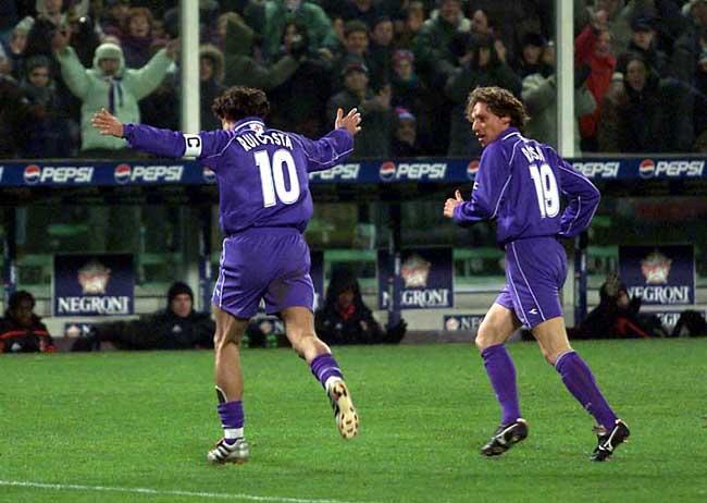 Fiorentina Milan Rui Costa