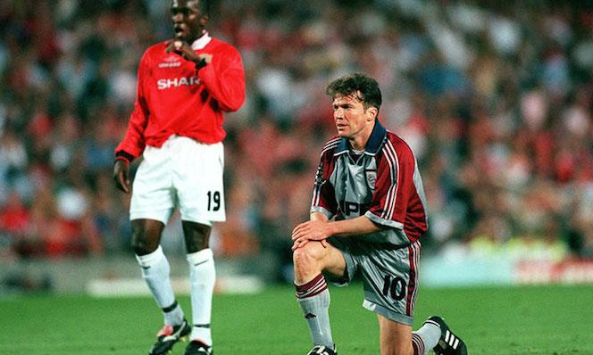 Lothar Matthäus contro il Manchester United