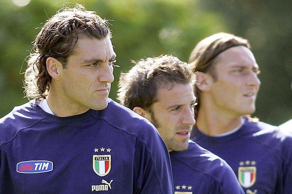 Vieri Totti Del Piero